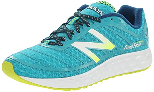 New Balance NBW980BB2 Sneaker, Donna, Multicolor (bb2 Teal/yellow), 37