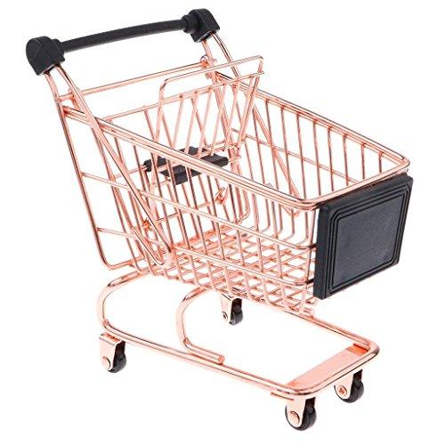 Apollo Housewares 7572 Apollo Kupfer-Mini-Einkaufstrolley, plastik