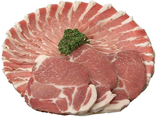 808アベル 鹿児島 黒豚 バラ肉 しゃぶしゃぶ 400g + 肩ロース とんかつ 300g 産地直送