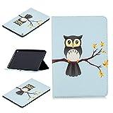 Lindo Panda Owl Butterfly Flower Design Tablet Stand Card Slot Case compatible con iPad Mini 5ª generación 2019 7.9 pulgadas (3)
