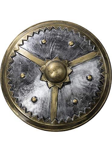 Funidelia | Escudo de Vikingo de 61 cms para Hombre y Mujer Nrdico, Valkiria, Brbaro, Vikings - Multicolor, Accesorio para Disfraz