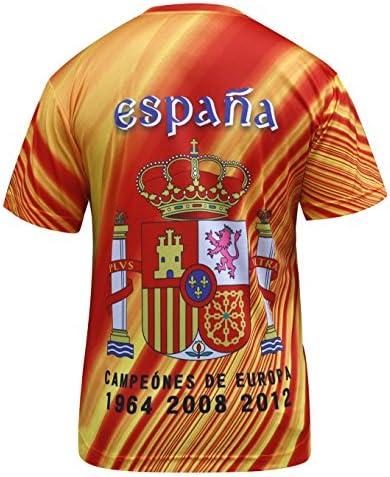 Espana Camisetas España los Hombres del Jersey: Amazon.es: Ropa y accesorios
