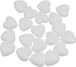 DecoPorex Frase Love de 200 mm de Hauteur x 30 mm d/épaisseur avec c/œur Non Peint