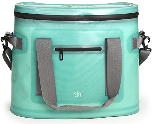 Simple Modern Insulated Adult Lunch Bag Tote Reusable Meal Container for Women, Men - Discontinued, 20L Weekender Cooler, Caribbean