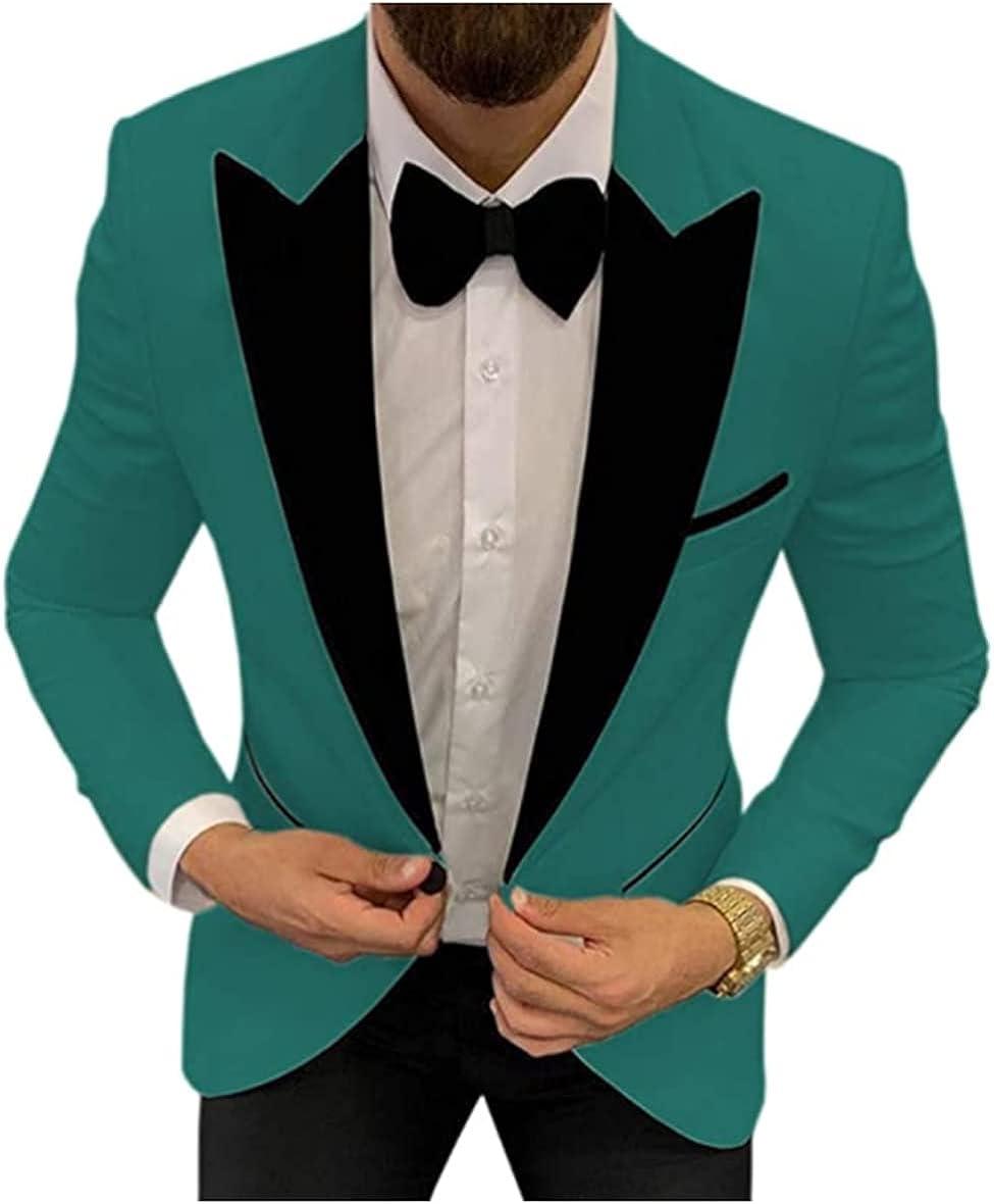 3 Pieces Casual Best Man Blazer Wedding Groomsmen Suit Set Party Tuxedos for Men