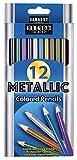 Sargent Art (SARAD) Metallic Colored Pencils, Assorted