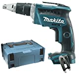 Makita DFS452RTJ Cordless screwdriver 18 V / 5 Ah, in MAKPAC case with 2 batteries and 1 charger, dfs452rtj