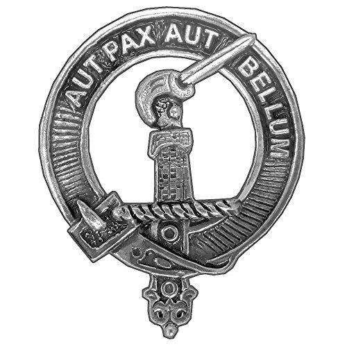 Gunn (New) Clan Crest Scottish Cap Badge