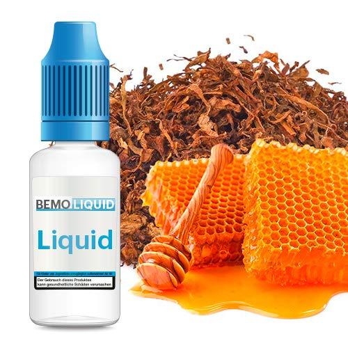 ORIGINAL BEMO LIQUID - Bestes deutsches eLiquid - Riesige Auswahl für Deine e-Zigarette (Honey-Tabak)