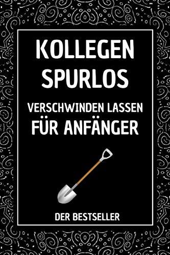 Kollegen Spurlos: lustige geschenke für frauen männer | linierte Seiten Notizbuch Tagebuch , anti stress geschenke , Geschenkideen Chef Kellegin , büro geschenke