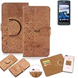 K-S-Trade 360° Cover cork Case compatible with Crosscall