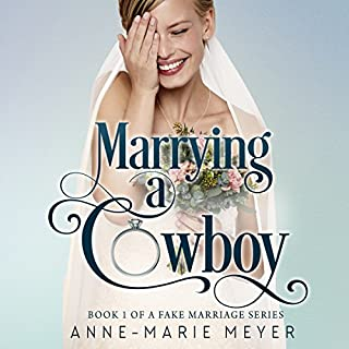 Marrying a Cowboy audiobook cover art