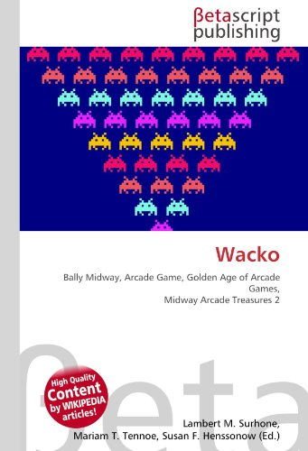 Wacko: Bally Midway, Arcade Game, Golden Age of Arcade Games, Midway Arcade Treasures 2