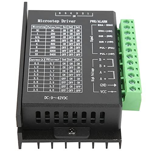 Kits De Impresora 3D CNC, Kit De Controlador De Motor Paso A Paso Nema 23 Controlador De 4 Ejes Con Cable USB Para Fresado Taladro Para Robot Para Grabado Láser(6,35 milímetros)