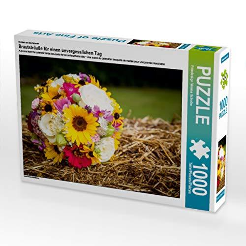 CALVENDO Puzzle Brautsträuße für einen unvergesslichen Tag 1000 Teile Lege-Größe 64 x 48 cm Foto-Puzzle Bild von Verena Scholze