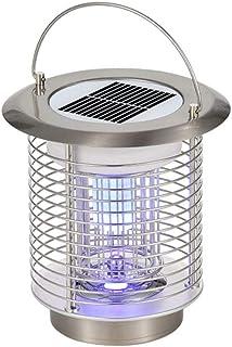 Lámpara Antimosquitos Electrico Exterior Camping Antimosquitos Lámpara Portátil 2 en 1 Noche Lámpara LED Zapper Mosquito Impermeable