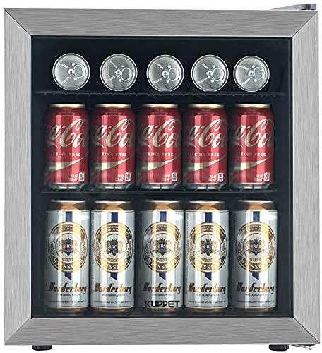 Mini Beverage Refrigerator - 62 Can Spring new work Cooler Fridge for Door Glass 2021 spring and summer new