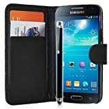 mega.deals4u® - PU Leather Flip Card Wallet Case For