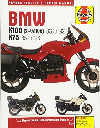 BMW K100 & 75 (Haynes Service and Repair Manual)