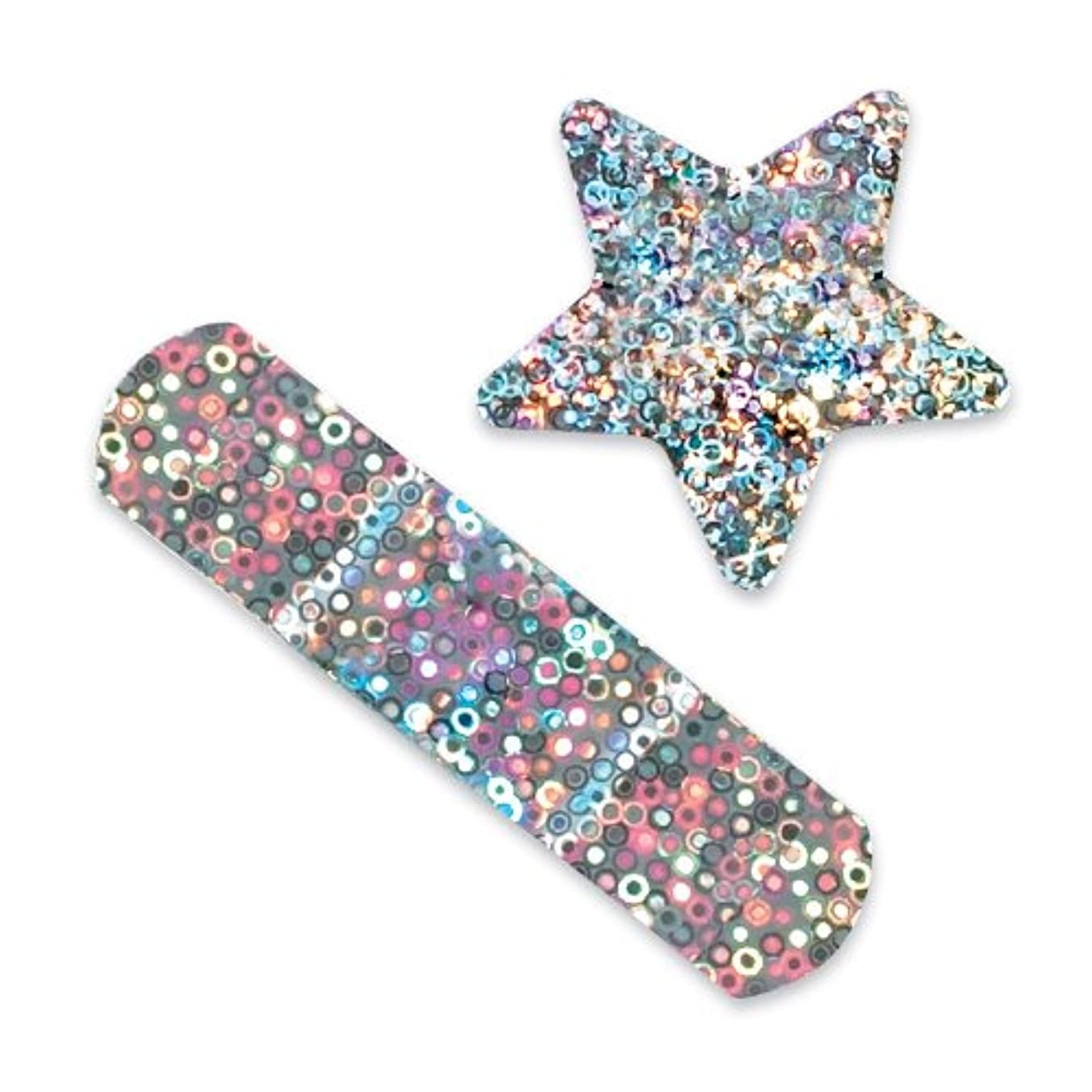 Glitter Stars and Strips Bandages - 100 per Pack