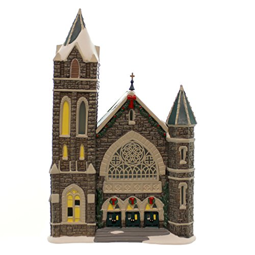 Department 56 Christmas in the City Village Church of the Advent Lit House, 10.8'
