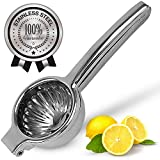 Lemon Squeezer Stainless Steel with Premium Quality Heavy Duty Solid Metal Squeezer...