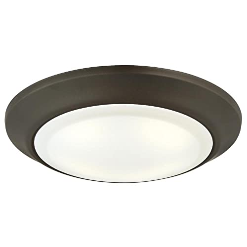 Westinghouse Lighting 6322800 Large Led Indoor Outdoor Dimmable Surface Mount Wet Location Oil Rubbed