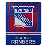 The Northwest Company NHL New York Rangers 'Fade Away' Fleece Throw Blanket, 50' x 60' , Blue