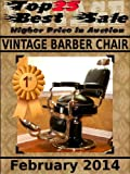 Top25 Best Sale - Higher Price in Auction - Vintage Barber Chair - February 2014