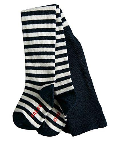 FALKE Baby Strumpfhosen Stripe - Baumwollmischung, 1 Stück, Blau (Marine 6120), Größe: 80-92
