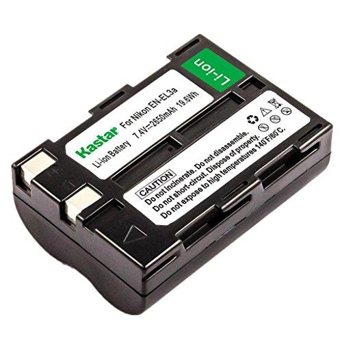 Kastar ENEL3 Battery for Nikon EN-EL3 EN-EL3a and Nikon D100 D70 D70S Outfit D50 DLSR Cameras