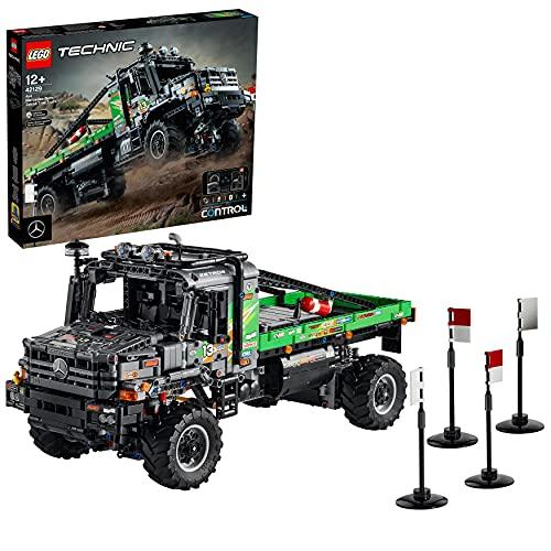 LEGO Technic Camion Fuoristrada 4x4 Mercedes-Benz Zetros, Camion Giocattolo, Macchina Telecomandata, Idee Regalo, 42129