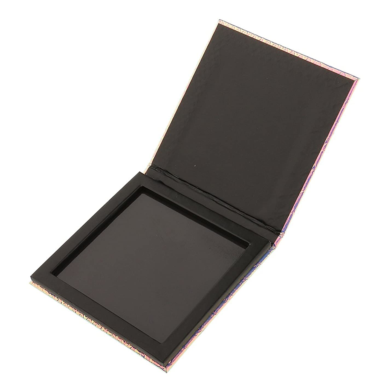 メニュー引き渡す絶滅したKesoto 磁気パレットボックス 空の磁気パレット 化粧品ケース メイクアップ コスメ 収納 ボックス 旅行 出張 化粧品DIY 全2サイズ選べ - 10x10cm