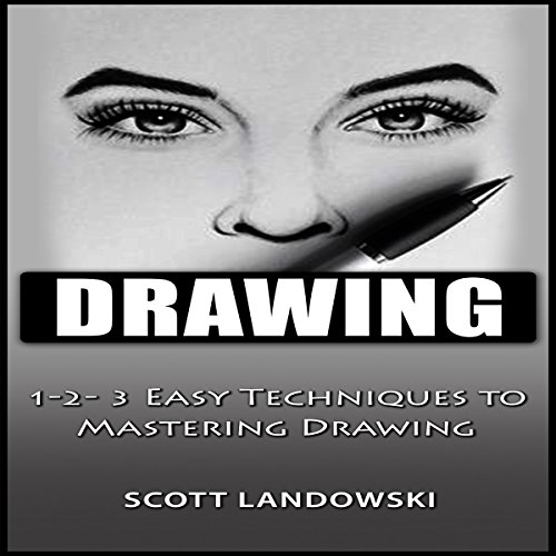 Drawing audiobook cover art