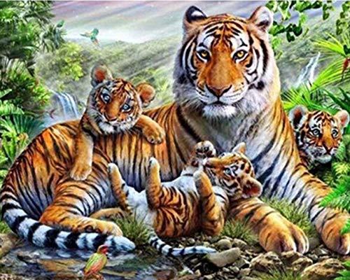 cuadro tigre de la marca DCPPCPD