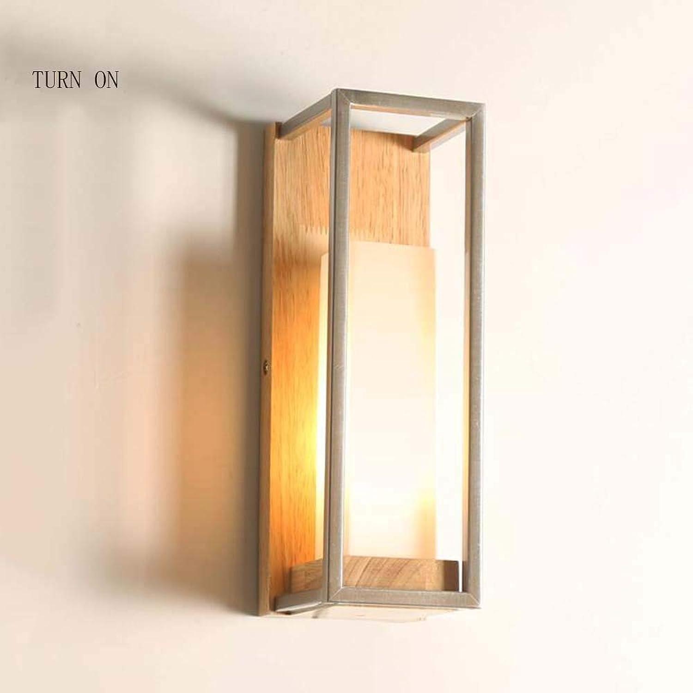 ZHYTX Mondlicht verstellbare Wand Wirtschaft - modern und minimalistisch Nachttisch Holz Wandleuchten Wohnzimmer Schlafzimmer Balkon Flur Wandleuchten (auer Lichtquellen)