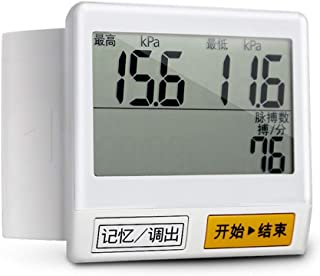 GYL Tensiómetro de Brazo Tensiómetro De Brazo - Home Care Tipo De Pulsera Automático De Presión Arterial Monitor Portátil Multifunción Precisa 42 Memoria esfigmomanómetro