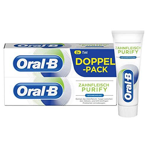 Oral-B Zahnfleisch Purify Tiefenreinigung Zahncreme 2x75ml