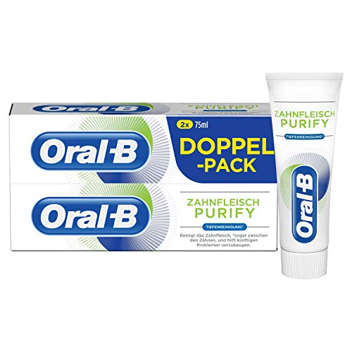 Oral-B tandvlees Purify dieptereiniging tandcrème 2x75ml