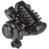 シマノ(SHIMANO) ディスクブレーキBR-RS305 リア用 メカニカル レジンパッド L02A フィン付 フラットマウント 付属/固定ボルトX2本 マウント厚25mm用 EBRRS305RDRF