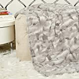 COZY ACRES 54x60 Cheyenne Blanket Charcoal Large