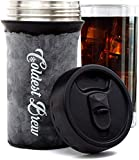 Coldest Brew Iced Coffee Maker - Make Hot Coffee Into Ice Coffee in