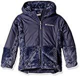 Columbia Girls' Toddler Fire Side Sherpa Hybrid Full Zip, Nocturnal, 2T