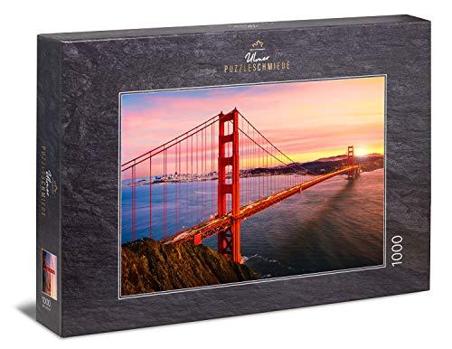 Ulmer Puzzleschmiede - Puzzle 'Ponte del Golden Gate' - Il ponte sulla baia di San Francisco - un punto di riferimento degli Stati Uniti