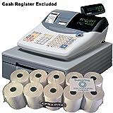 eposbits® marca rollos para caja registradora Casio TE-2000TE2000te 2000–de 10rollos