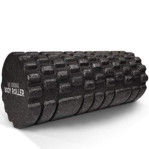 The Original Body Roller - High Density Foam Roller Massager for Deep Tissue...