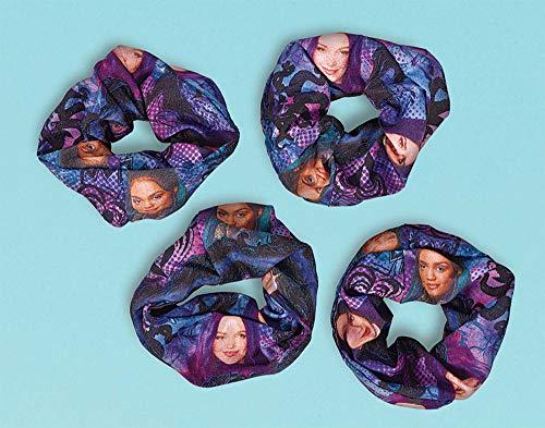 amscan Descendants 3 Hair Scrunchies- 4 pcs.