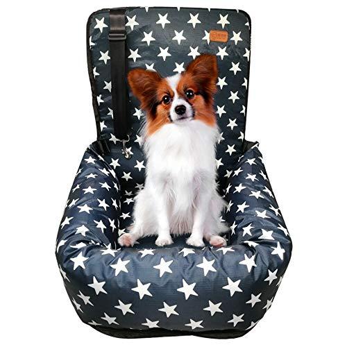 ZEEXIPDR Seggiolino Auto per Cani, Un seggiolino Auto appositamente Progettato per i Viaggi di Animali Domestici, Materiale di Alta qualità, Sicuro e Confortevole, può Essere rimosso e Lavato.