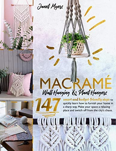 Macram Wall Hanging Plant Hangers 147Smart and Budget Friendly steps to quickly learning how product image