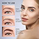 LUXROS Eyebrow Serum, Eyebrow Enhancer Serum, Eyebrow Boost Serum for Longer, Thicker Healthier Brows, Made in USA, 5ml 6 Month Supply
